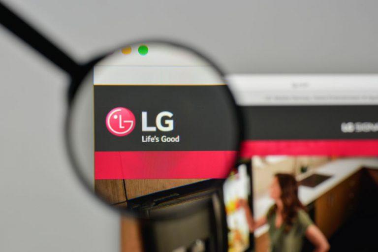 Imagem de destaque do logotipo LG