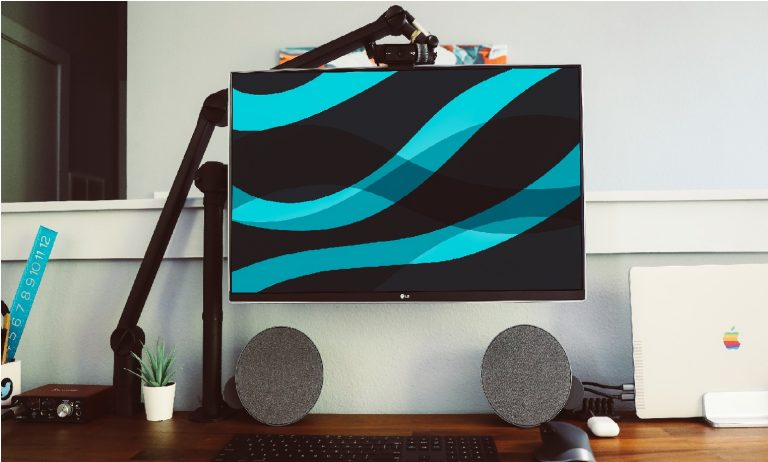 Imagem de um monitor.