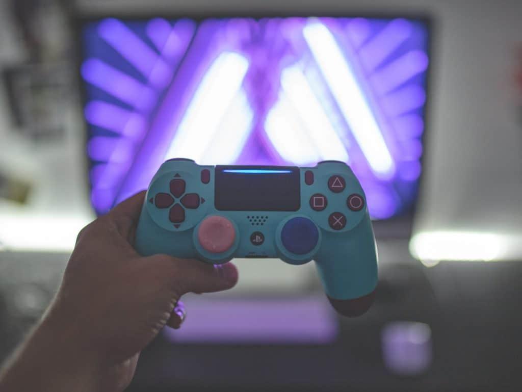 Imagem de controle para PS4.