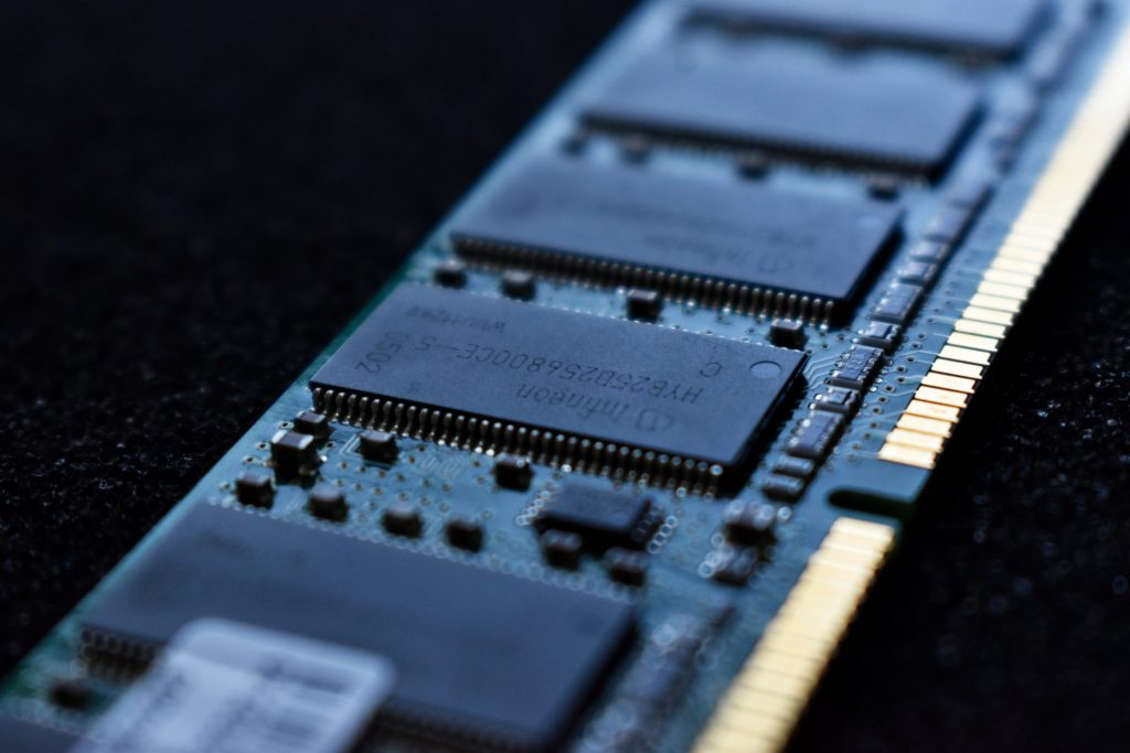 Imagem de memória RAM