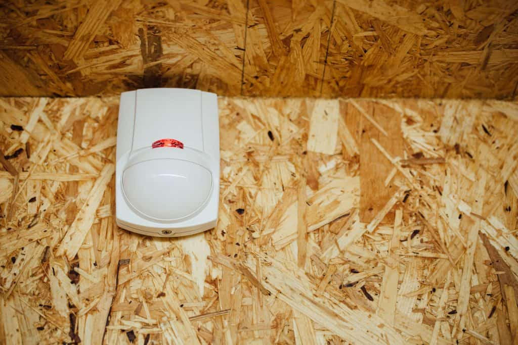 Imagem de sensor em parede.