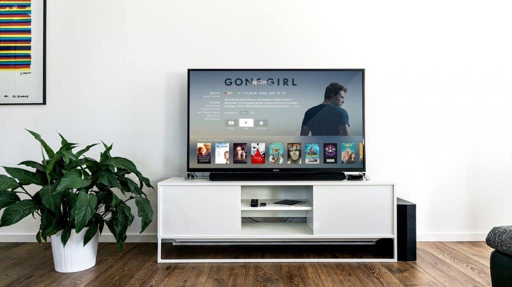 Imagem de uma Smart TV
