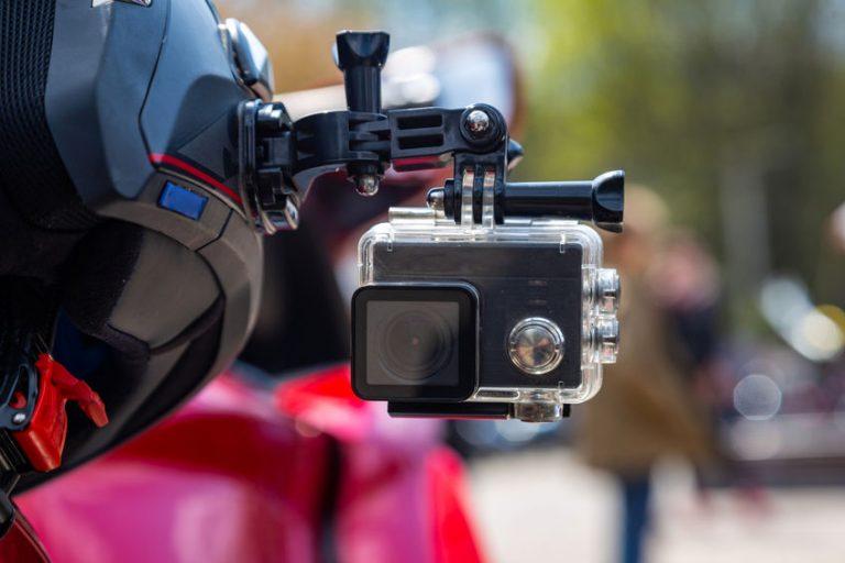 Imagem mostra uma câmera Go Pro