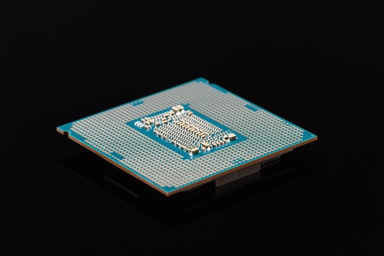 Imagem de processador Intel