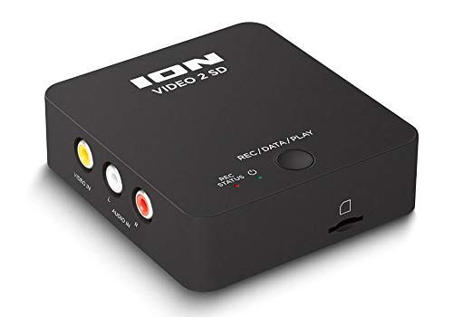 Conversor de vídeo VHS para o formato digital VIDEO2SD ION IV22