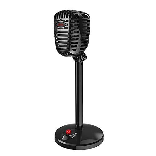 Docooler JIES Retro Microfone Condensador Com Fio Mic 3.5mm Porta Jogo de Canto Mic para Computador PC