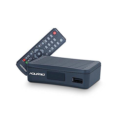 Conversor Gravador Digital Full HD, Aquario, DTV-4000, Preto, Pequeno