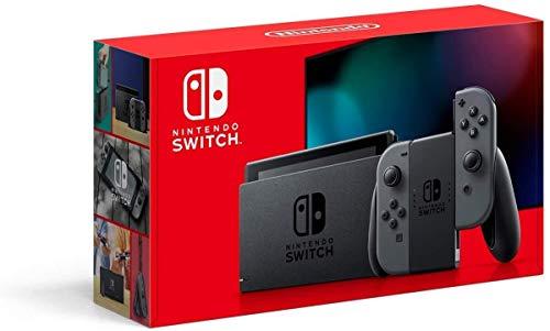 New Nintendo Switch Cinza
