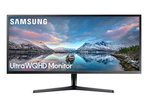 Monitor panorâmico Samsung de 86,36 cm Ultrawide WQHD (LS34J550WQNXZA)