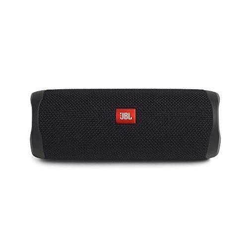 JBL FLIP 5, alto-falante Bluetooth portátil à prova d'água, preto (novo modelo)