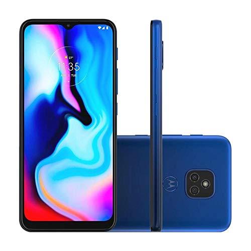 Smartphone Moto E7 Plus Azul Navy, com Tela de 6,5, 4G, 64GB e Câmera de 48MP* + 2MP - XT2081-1