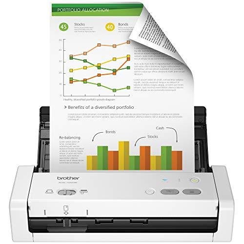 Scanner Brother ADS1250W A4 Duplex Wireless 25ppm