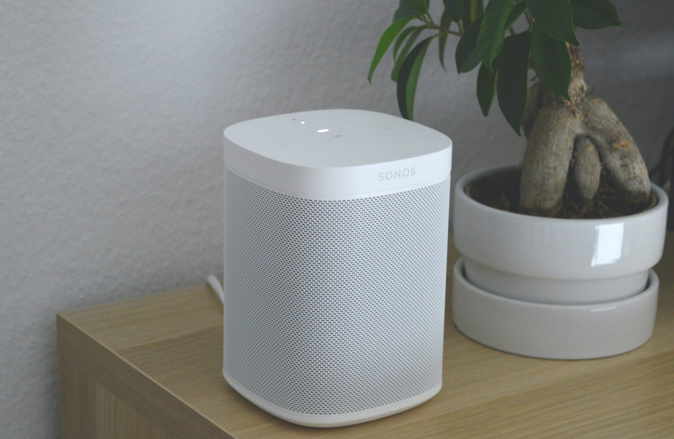 Imagem de uma caixa de som.