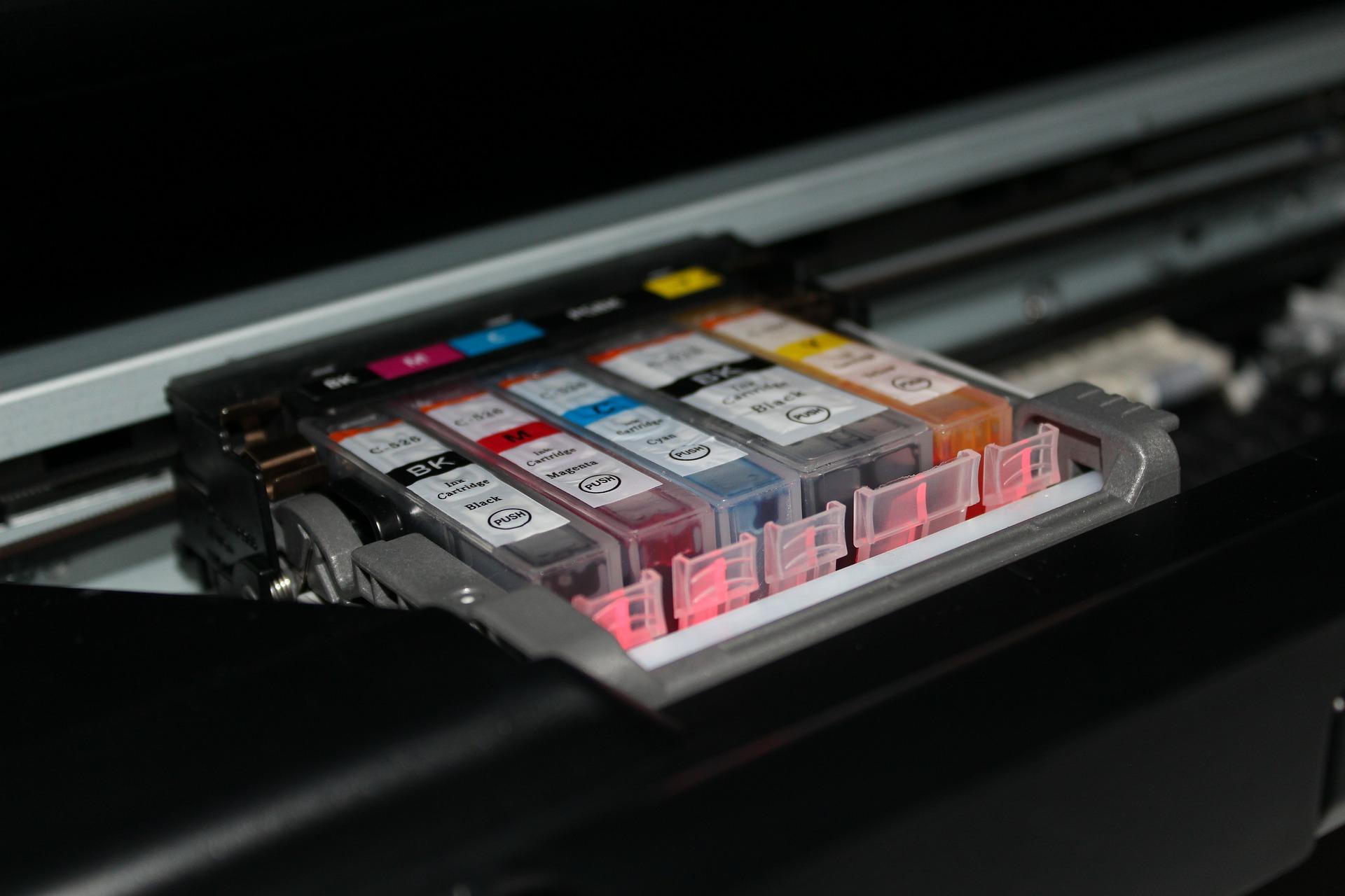 Imagem de um cartucho de tinta.