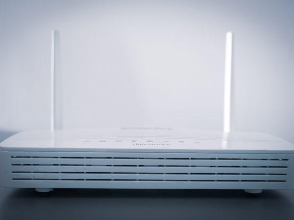 Imagem de um modem.