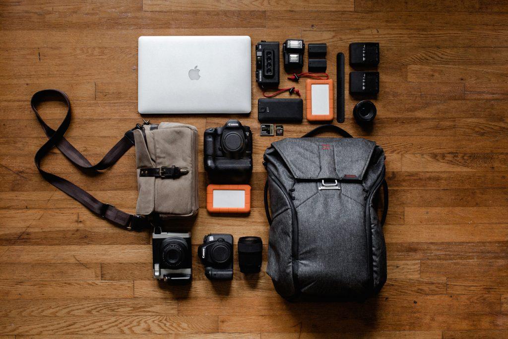 Imagem de uma mochila para notebook.