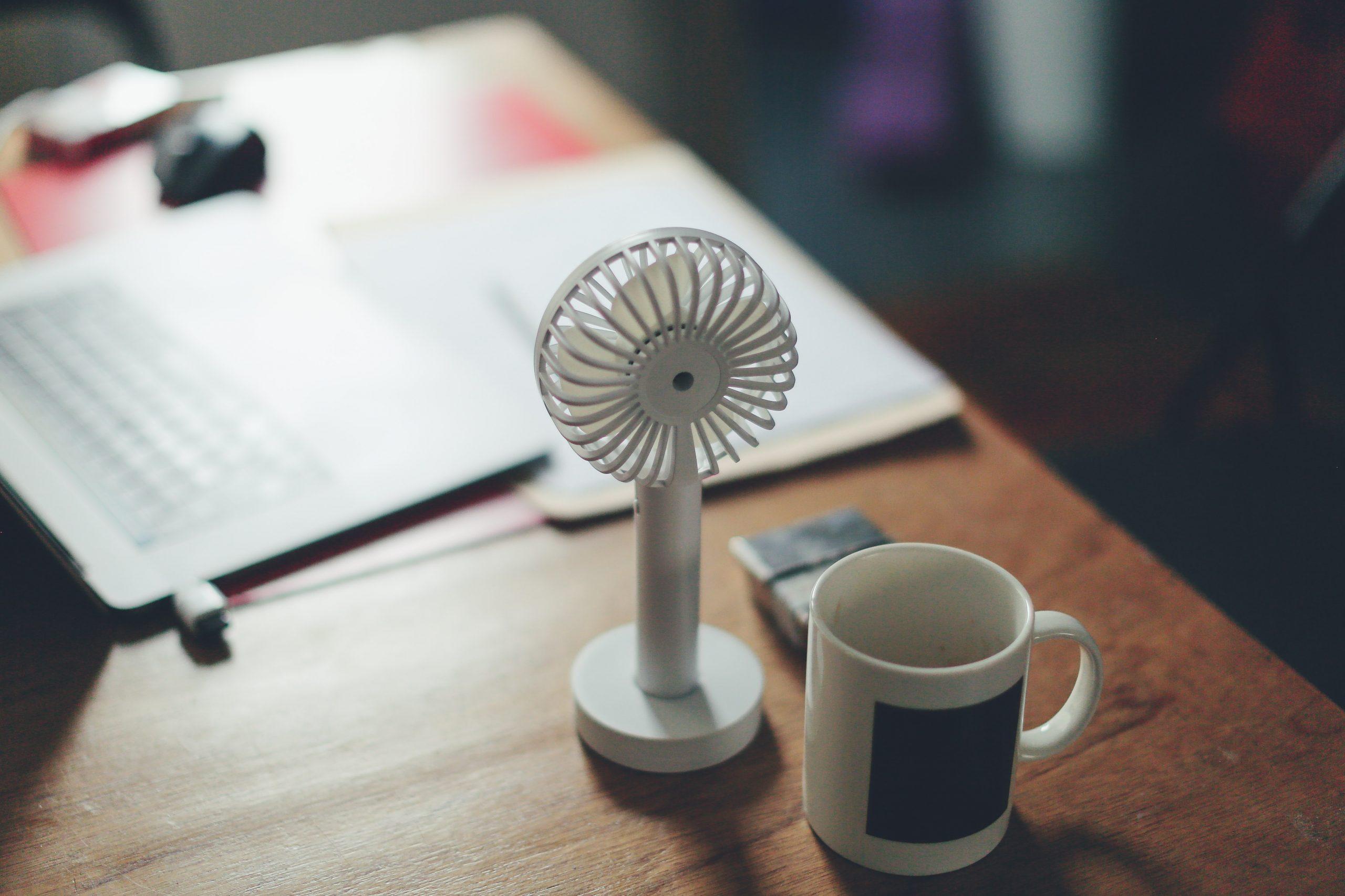 Imagem de um ventilador.