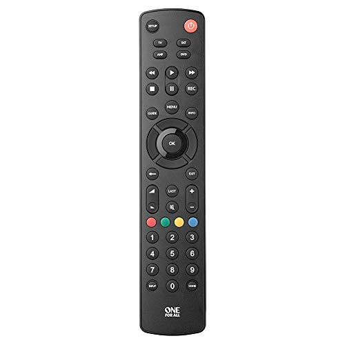 Controle Remoto Universal para Tv, DVD, Sat e Audio, One for all, URC1249