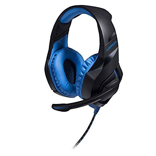 Fone De Ouvido Headset Com Led 2.0 Usb Azul Warrior - PH244