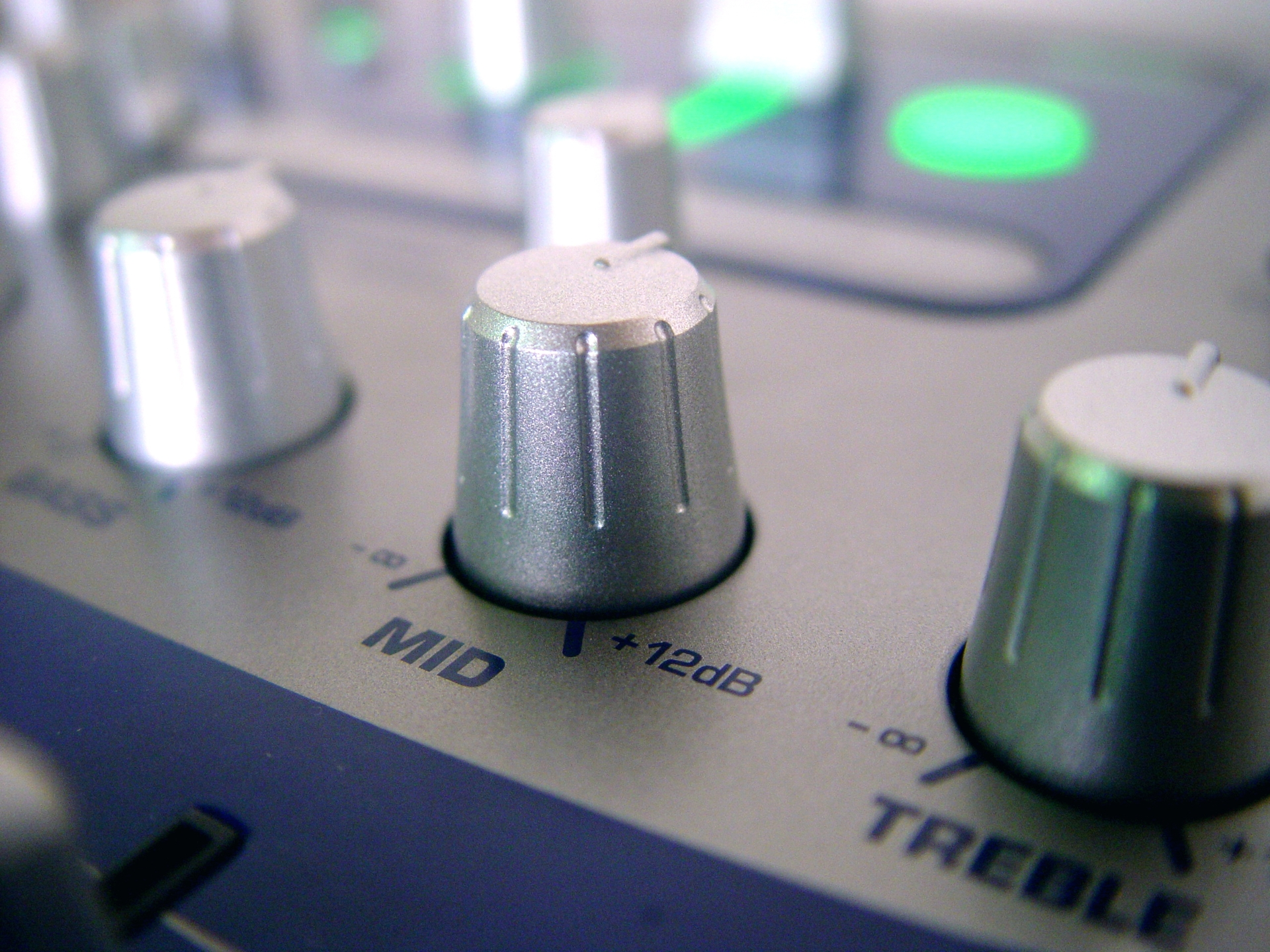contro les de equipo de sonido