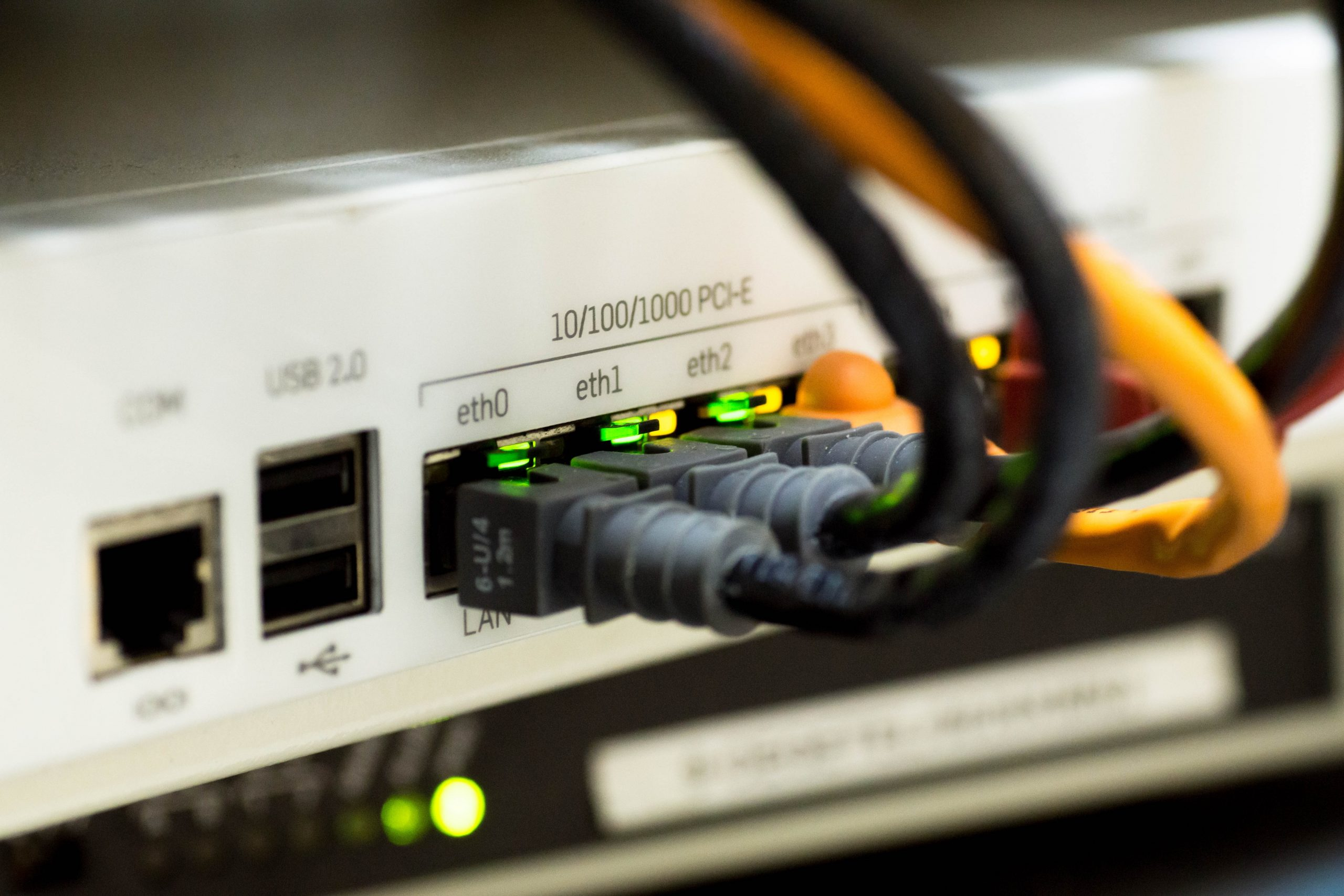 router con cable
