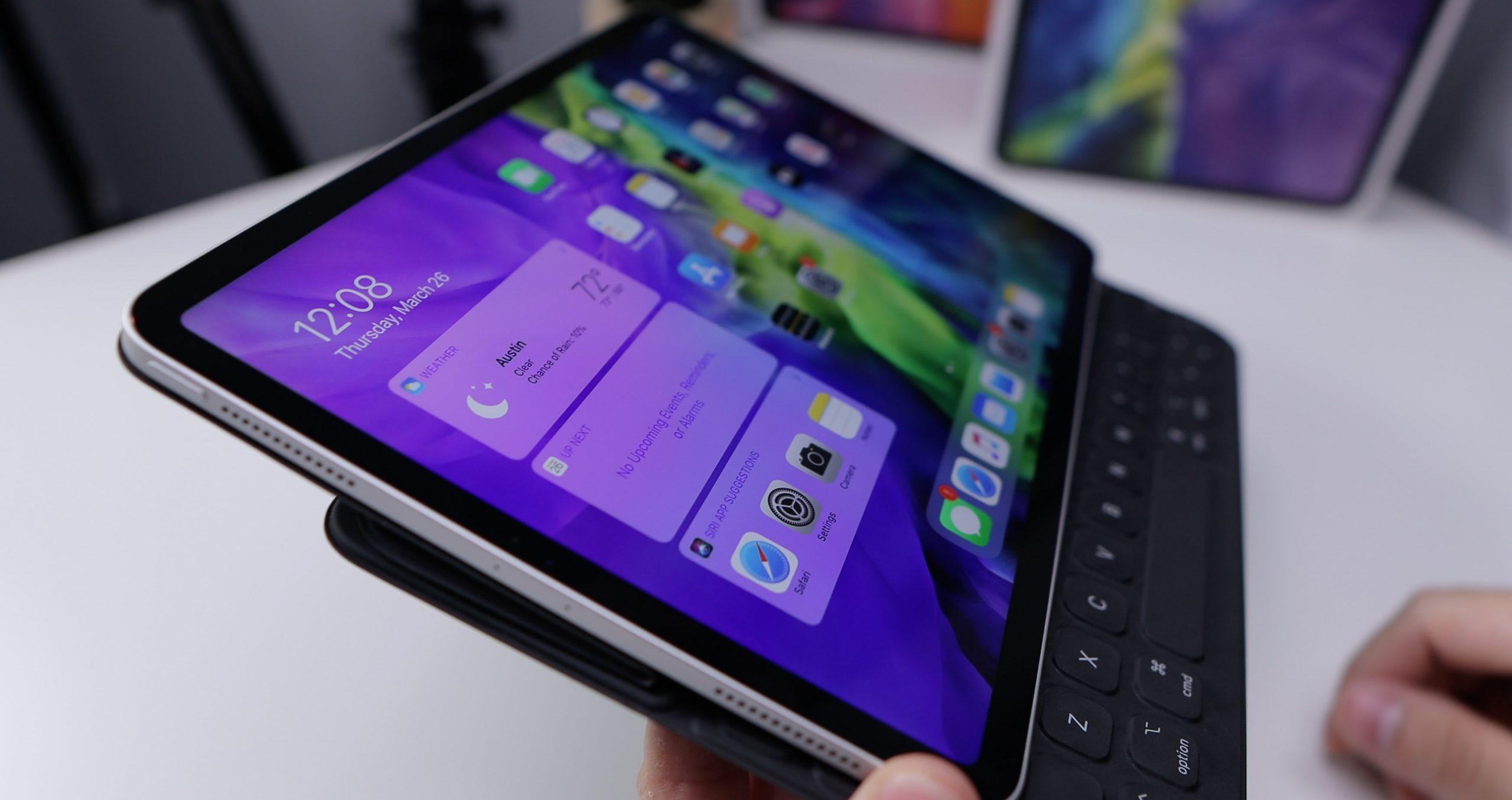 Imagem de um tablet.