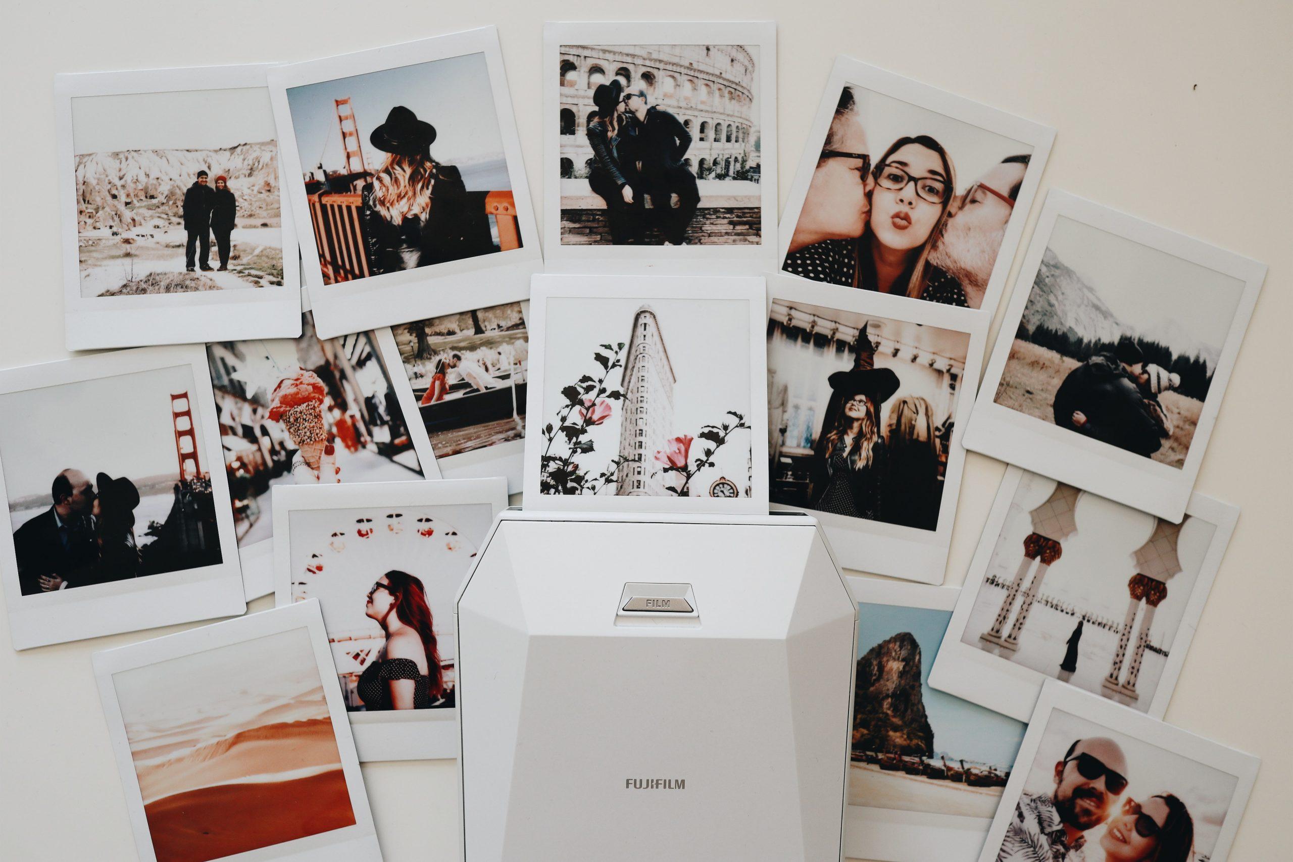 Imagem de uma impressora de fotos.