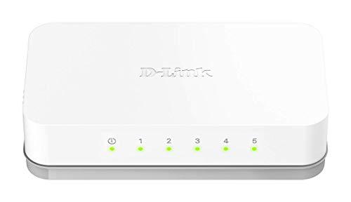 Switch Fast 5 Portas 100Mbps DES-1005C