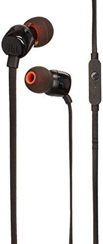 Fone De Ouvido Intra-auricular Com Microfone Jbl T110 Preto