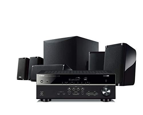 Sistema de Home Theater Yamaha YHT-4950U 4K Ultra HD 5.1 canais com Bluetooth