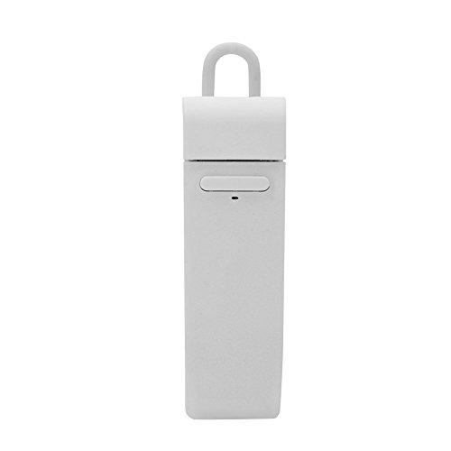 Fone de ouvido portátil comercial, tradutor de idiomas nacional Smart 16, compatível para iPhone, Samsung, Huawei, Xiaomi, PC, iPad (branco)