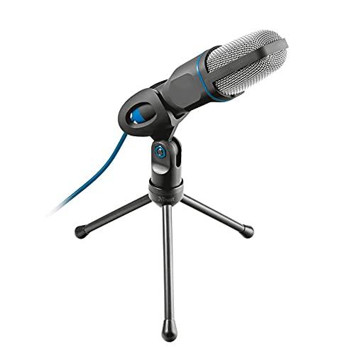 Microfone USB Mico Ajustável Trust com Tripé e Cabo de 1.8m - 23790