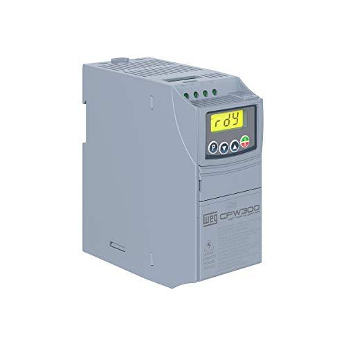 Inversor de frequência CFW300 WEG 2cv 220v 7,3a Monofásico