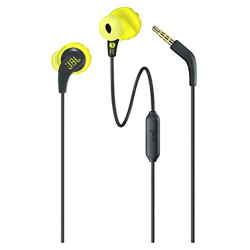 JBL Fone de Ouvido Endurance RUN, Preto e amarelo