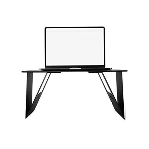 SIZHINAI Porta-laptop de mesa fina e durável para cama, escritório, dobrável, laptop, notebook, PC, mini mesa para tablet e PC