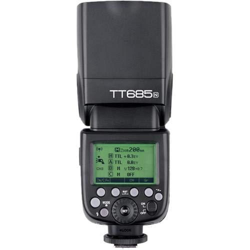 Flash Godox TT685 TTL para câmeras Marca da Camera:Nikon