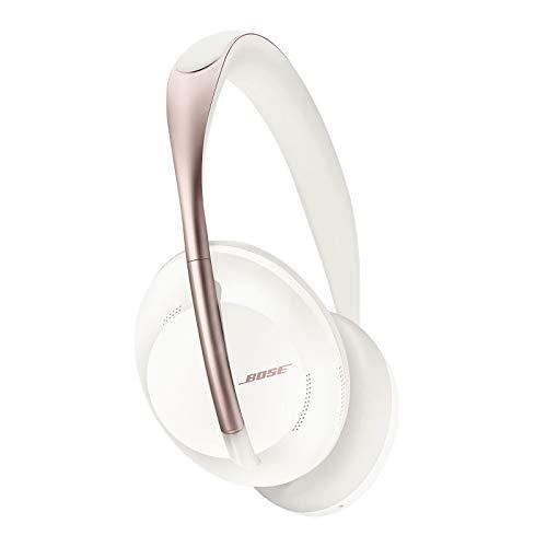 Bose Fones de ouvido com cancelamento de ruído 700 — sobre a orelha, fones de ouvido Bluetooth sem fio com microfone embutido para chamadas claras e controle de voz Alexa, Soapstone