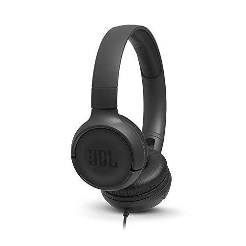 JBL Tune 500 - Fone de Ouvido com Fio, Preto