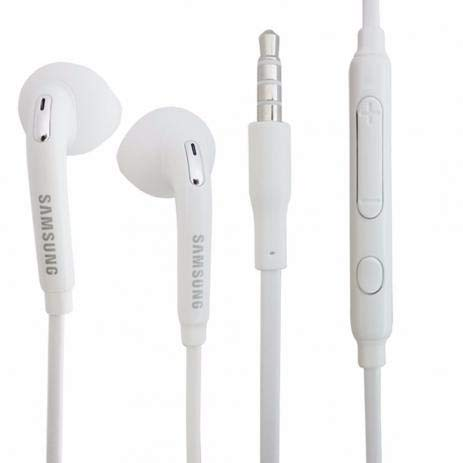 Fone de Ouvido EO-EG920BW Branco Estéreo 3,5mm para Smartphone Samsung GALAXY S6 e EDGE