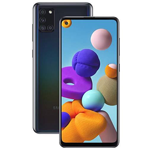 Smartphone Samsung A21s Preto 64GB Android 10 Tela 6.5