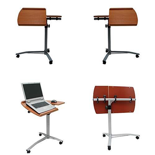 Mesa para Notebook de Luxo - Altura Ajustável e Reclinável - Vedor NB407W - Branco - VEXTABLE W