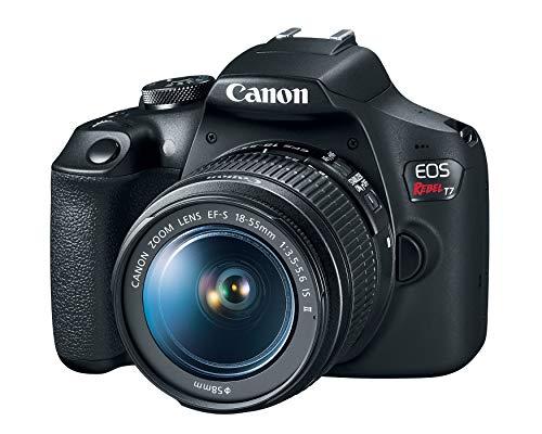 Camera Canon EOS Rebel T7 com lente 18-55mm IS II