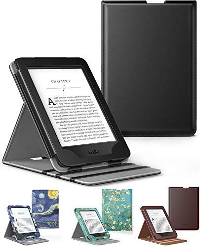 Capa Novo Kindle Paperwhite a prova D'água WB ® Premium Vertical Auto Hibernação - Preto