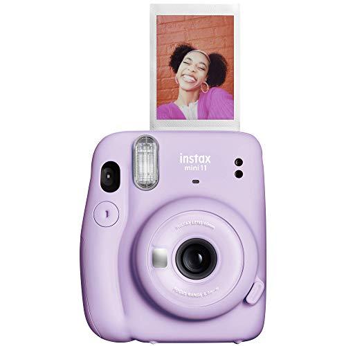 FUJIFILM 7553 Câmera de Filme Instantâneo, Instax Mini 11, Lilás Roxo