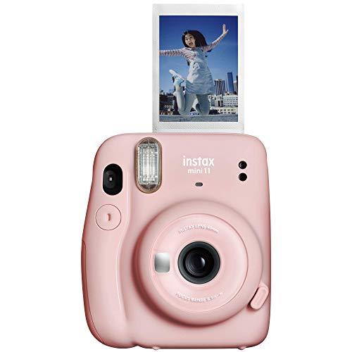 FUJIFILM 7552 Câmera de Filme Instantâneo, Instax Mini 11, Rosa Blush