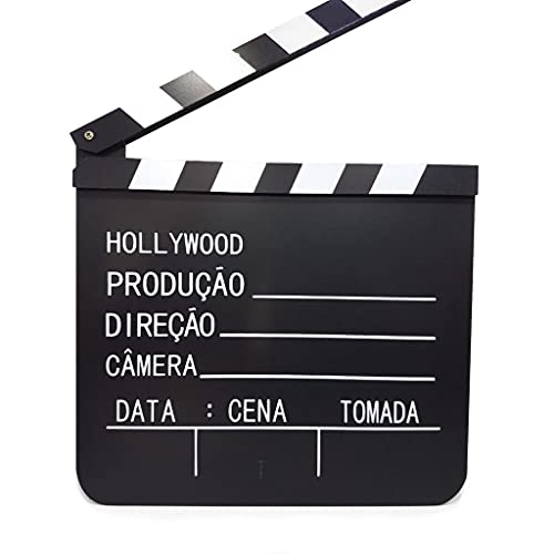 Claquete de Cinema - Mdf 20x19cm