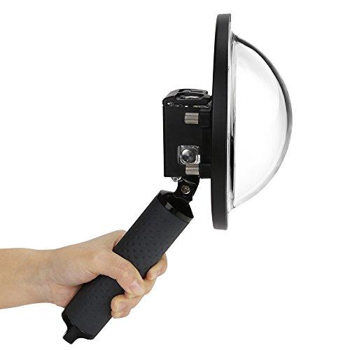 Dome para GoPro Hero 7 6 5 Black com Bastão Flutuante Shoot