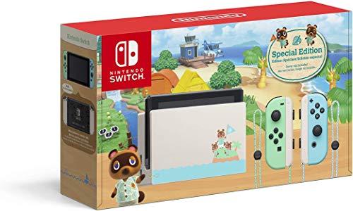 New Nintendo Switch Edição Animal Crossing