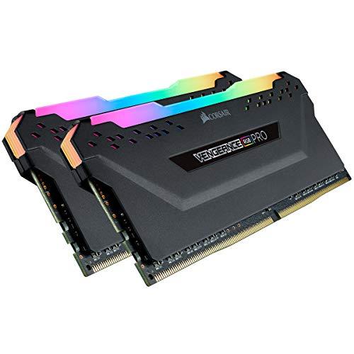 Memória de desktop Corsair Vengeance RGB Pro 16 GB (2 x 8 GB) DDR4 3600 (PC4-28800) C18 – Preta