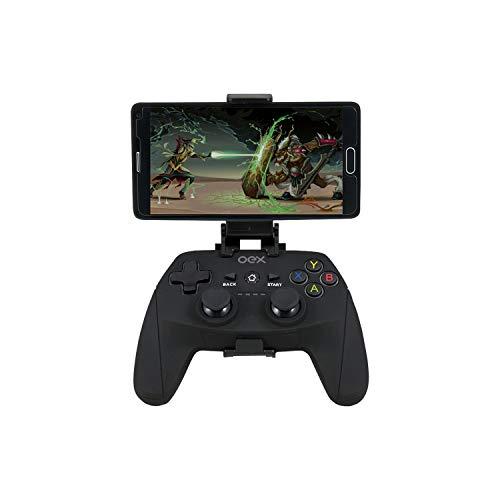 OEX GD100 Gamepad Origin Bluetooth, Joysticks e Controles para Computador, 2.4 ghz, USB, Preto